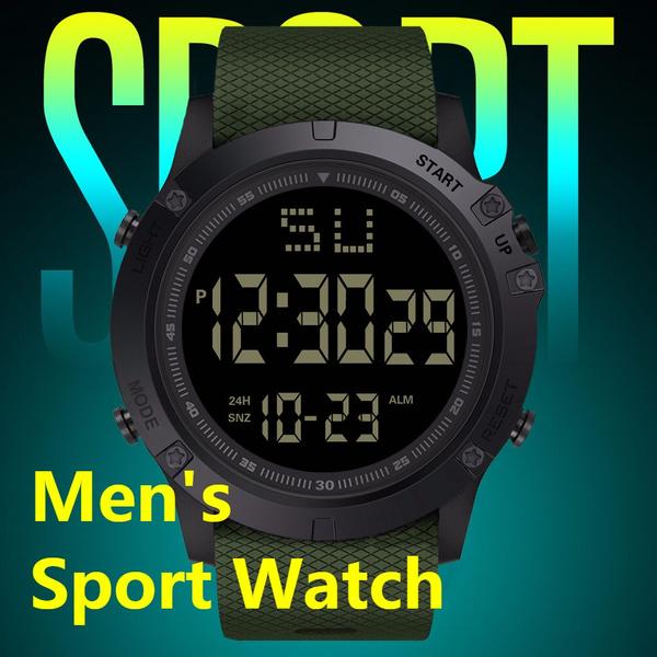 LED Watch, motiondigitalwatch, hikingwatch, led