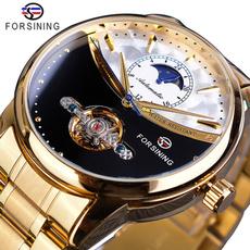 Blues, automaticmechanicalwatch, Sport, Waterproof Watch