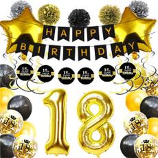 anniversaire, Flowers, confettilatexballoon, 30thbirthday