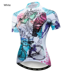 Summer, Fashion, Bicycle, Shirt