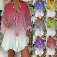 blouse, linenblouse, Fashion, long sleeve blouse