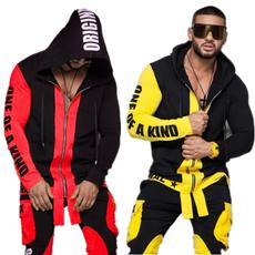 Plus Size, zippersset, tracksuits2set, Athletics