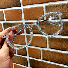 Designers, eye, Cat eye glasses, gold