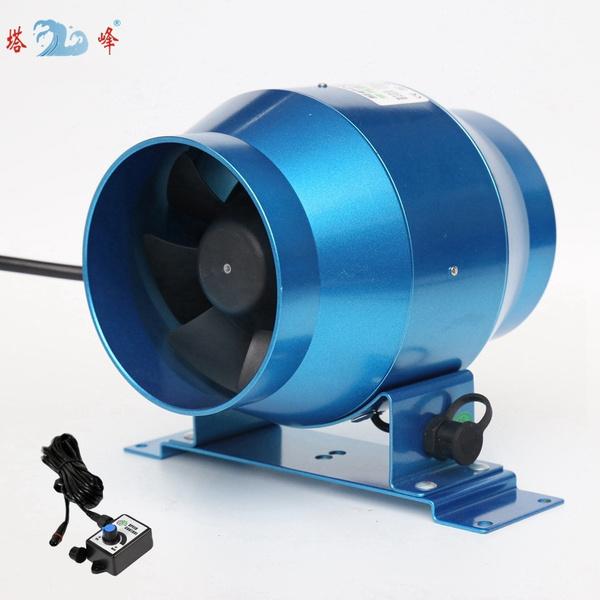 steplessvariablespeedfan, ventilation, 4, inlinefan