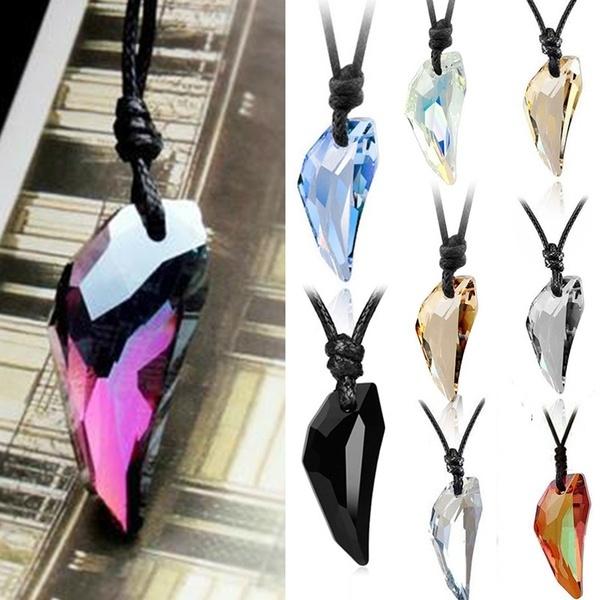 fangpendant, luckynecklace, fang, short necklace