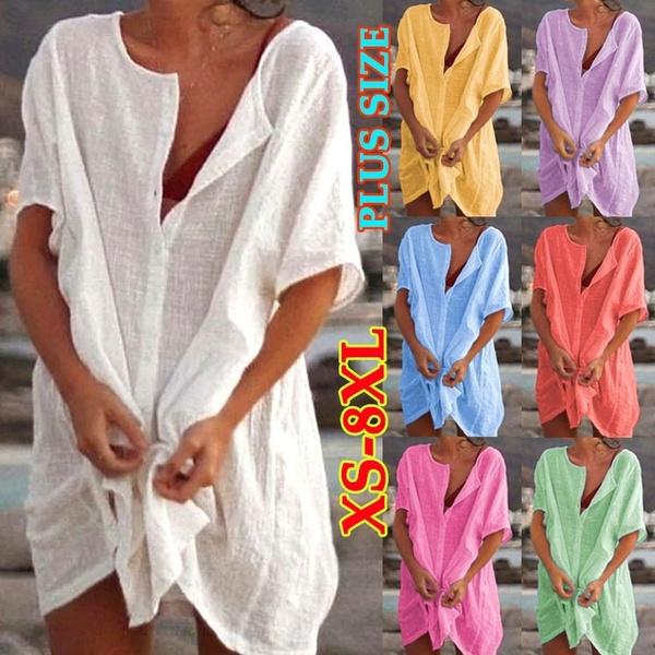 blouse, Plus Size, Summer, Dress