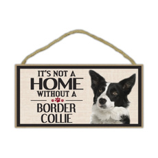 bordercollie, Home & Living, Dogs, sign