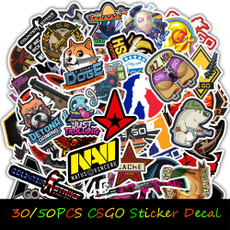 Car Sticker, Waterproof, Stickers, Guitars