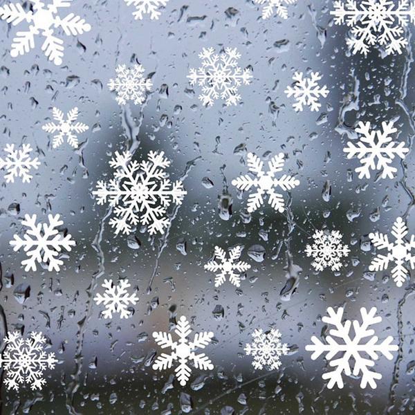 xmasdecor, windowsticker, Winter, Home & Living