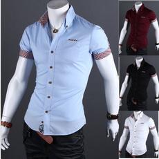 men shirt, Moda, Dress Shirt, Manga