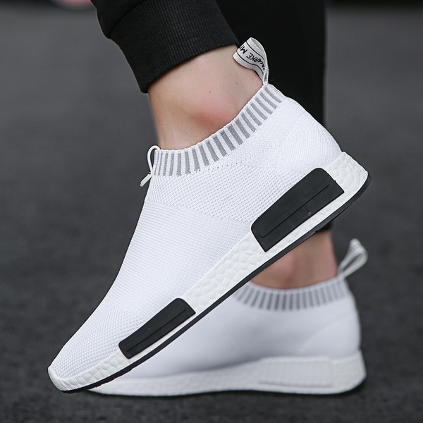 New Mens Breathable Mesh Shoes Mens