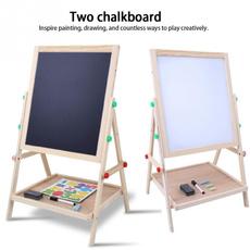 easel, art, Wooden, doublesidedrawingboard