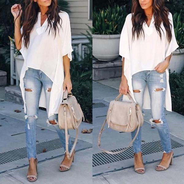 blouse, Summer, Shorts, Shirt