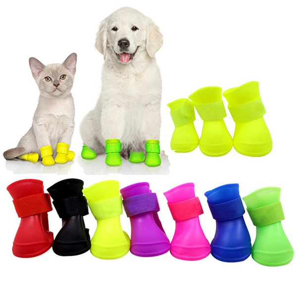 Booties, Fashion, rainboot, candy color