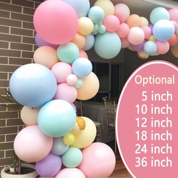 Pastels, balloongarland, sweetballoon, Garland