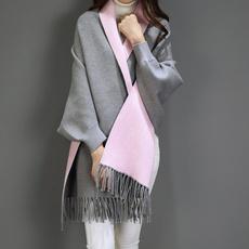 tasselshawl, Fashion, Long Sleeve, Spring