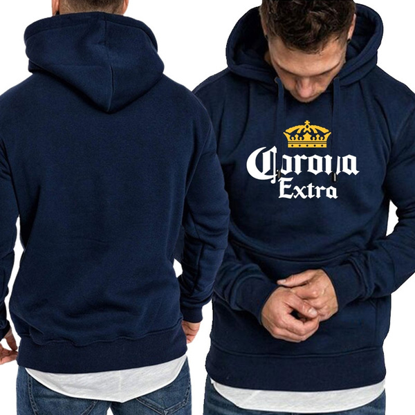 Corona Extra Mens Long Sleeve Hoodie Sweatshirt Hip Hop Streetwear Wish