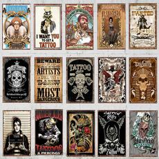 tattoo, Decor, art, Home Decor