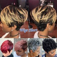 wig, Fashion, bobwig, Straight Hair
