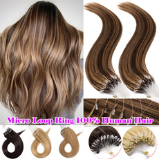 hairextensionshumanhair, Jewelry, human hair, microringhumanhair