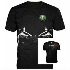 shortshirt, Tops & Tees, alfaromeo, Sleeve