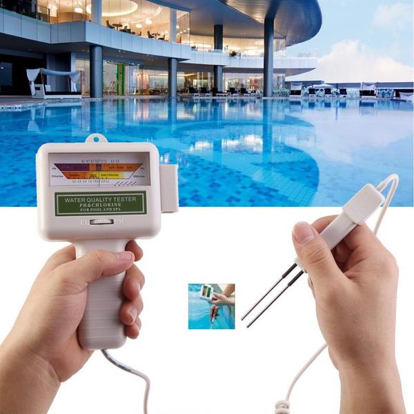 spawatertester, chlorineleveltester, phmeter, Monitors