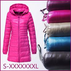 women winter clothes, portabloutwear, Winter, hoodedjacket