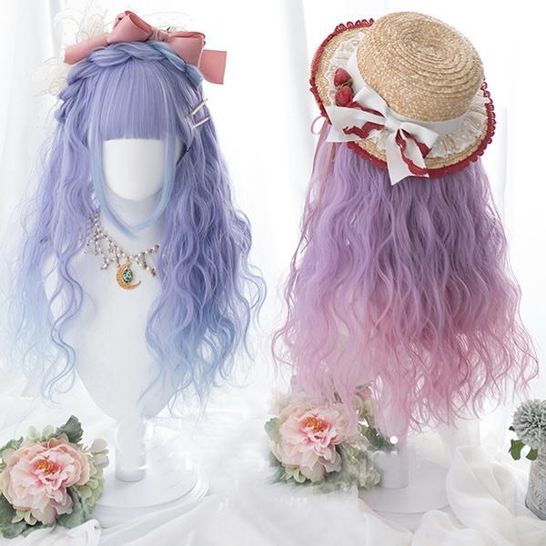 wig, cute, Cosplay, Lolita fashion