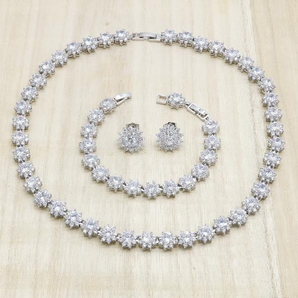 Stud Earring, Bracelet Charm, exquisitestudearring, whiteczjewelry