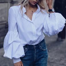 blouse, sleevebaggy, Plus Size, long sleeve blouse