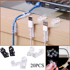 plasticclip, cableclip, usb, Home Organization