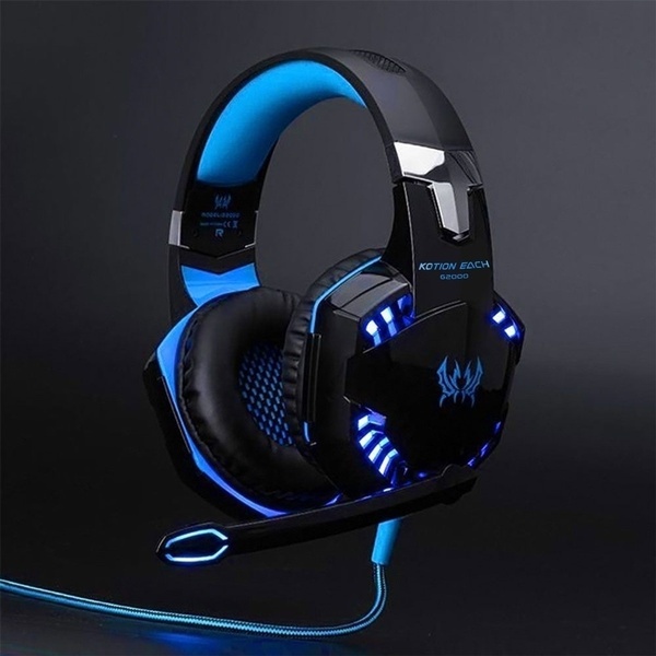 led, Headset, gameearphone, Earphone