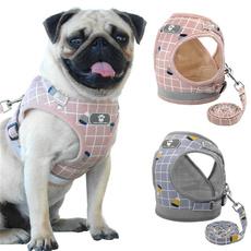 Vest, plaid, Dog Collar, puppy
