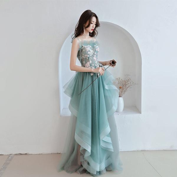 gowns, greeneveningdre, long dress, Evening Dress