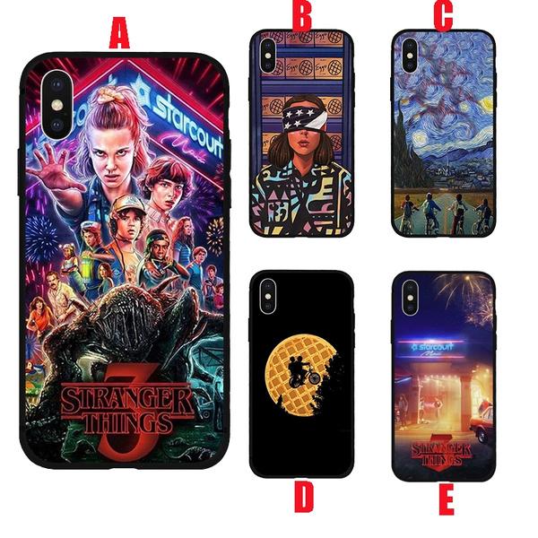 Stranger Things Season 3 Phone Case,Stranger Things Cover Case for Iphone 6 6s 7 7plus 8 8plus Xr Hard Plastics Phone Protective Case   Wish