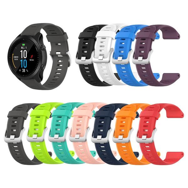 watchbandstrap, garminforerunner945, garminfenix5, siliconewatchband