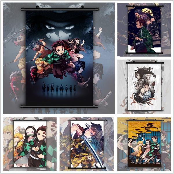animescroll, decoration, animecollection, Wall Art