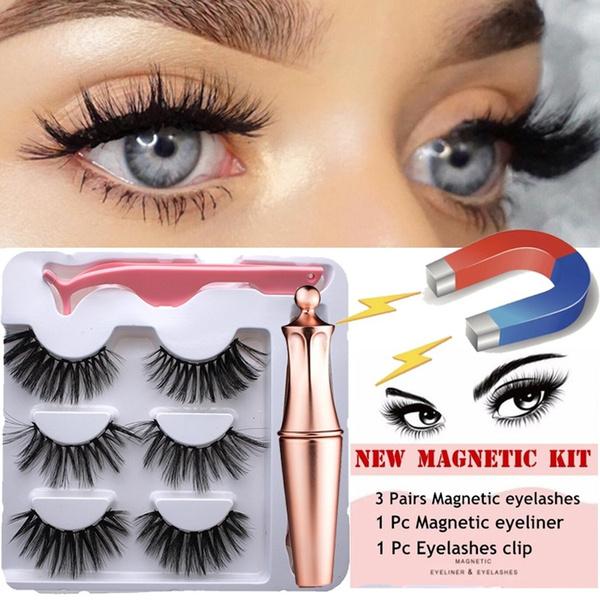 False Eyelashes, Makeup, mixedeyelashe, Beauty