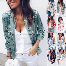 casual coat, shortjacket, Floral print, Shorts