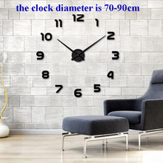 walldécorclock, Decor, quartz, horlogemurale