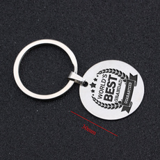Steel, grandpagift, Fashion, Key Chain