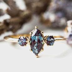yellow gold, Fashion, Princess, wedding ring