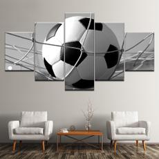 canvasprint, art, Home Decor, soccerpainting