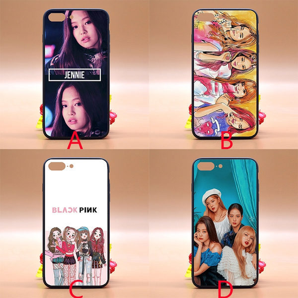 Black Pink Iphone Case Design Blackpink Wallpaper Anime Tpu Pc Phone Case Cover For Iphone Samsung Huawei Wish