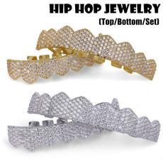 goldplated, Jewelry, teethgrillsgrillz, micropavegrill