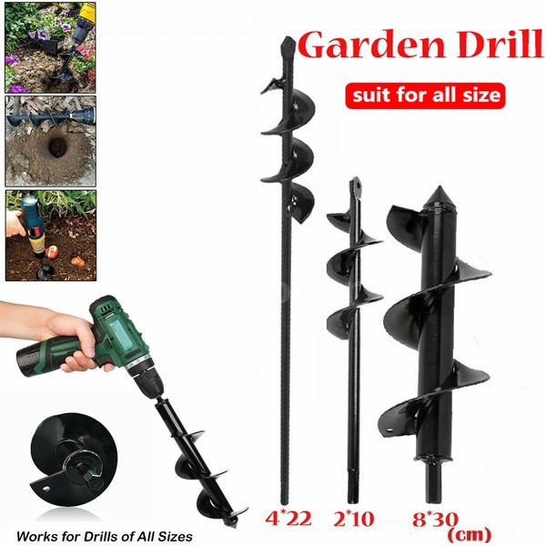 Gardening, augerdrillbit, spiralholedrill, Replacement