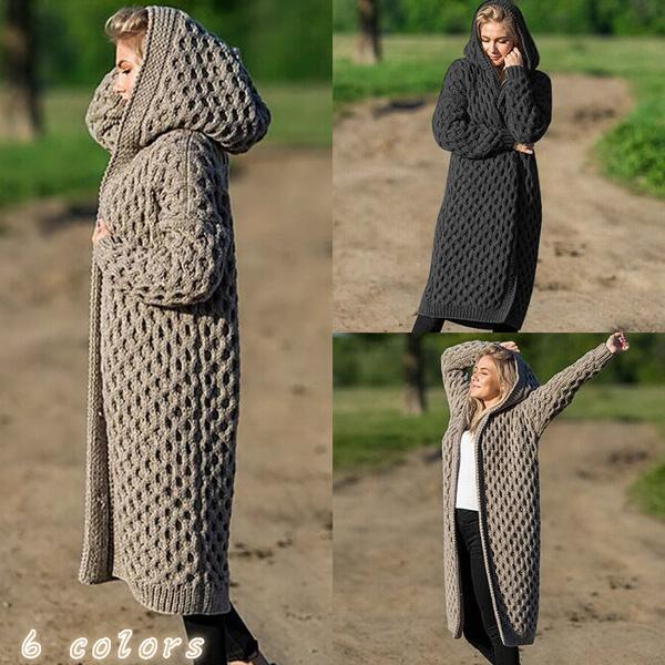 womencloak, longcoatforwomen, Plus Size, sweatercardigan
