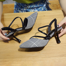 Summer, Korea fashion, Sandals, heelsforwomen