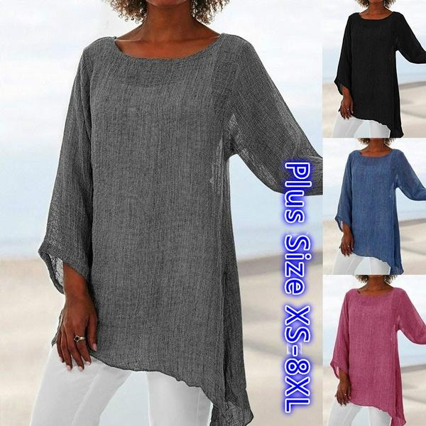 blouse, Plus size top, Shirt, long sleeved shirt