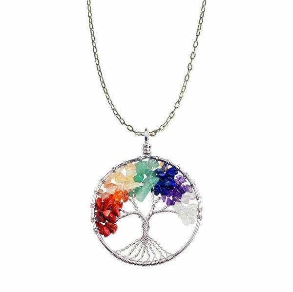 Jewelry, Energy, Tree, Necklace